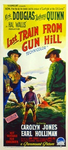Last Train from Gun Hill - Australian Movie Poster (xs thumbnail)
