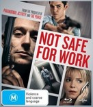Not Safe for Work - Australian Blu-Ray movie cover (xs thumbnail)