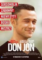 Don Jon - Polish Movie Poster (xs thumbnail)