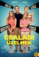 We're the Millers - Hungarian Movie Poster (xs thumbnail)