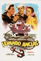Anchors Aweigh - Spanish Movie Poster (xs thumbnail)