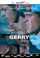 Gerry - Polish poster (xs thumbnail)
