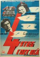 4 passi fra le nuvole - Swedish Movie Poster (xs thumbnail)