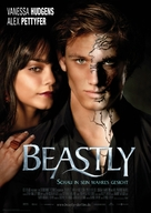 Beastly - German Movie Poster (xs thumbnail)