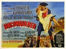 Unconquered - British Movie Poster (xs thumbnail)