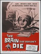 The Brain That Wouldn't Die - Movie Poster (xs thumbnail)