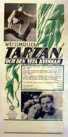 Tarzan and His Mate - Swedish Movie Poster (xs thumbnail)