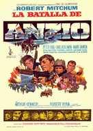 Lo Sbarco di Anzio - Spanish Movie Poster (xs thumbnail)