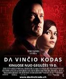 The Da Vinci Code - Lithuanian Movie Poster (xs thumbnail)