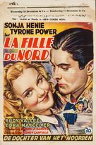 Second Fiddle - Belgian Movie Poster (xs thumbnail)