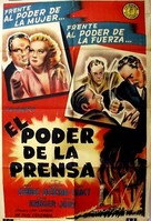 Power of the Press - Argentinian Movie Poster (xs thumbnail)