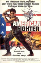 American Ninja - German Movie Poster (xs thumbnail)