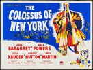 The Colossus of New York - Movie Poster (xs thumbnail)