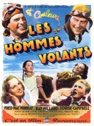 Men with Wings - French Movie Poster (xs thumbnail)