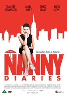 The Nanny Diaries - Finnish Movie Cover (xs thumbnail)