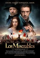 Les Misérables - Mexican Movie Poster (xs thumbnail)