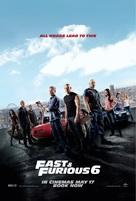 Furious 6 - British Movie Poster (xs thumbnail)