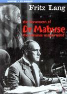 Das Testament des Dr. Mabuse - Movie Cover (xs thumbnail)