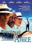 A Good Man in Africa - Czech DVD cover (xs thumbnail)