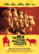 The Men Who Stare at Goats - Danish Movie Poster (xs thumbnail)