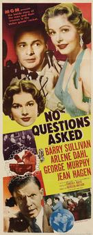No Questions Asked - Movie Poster (xs thumbnail)
