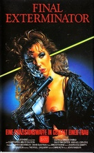 Steel and Lace - German VHS movie cover (xs thumbnail)