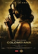 Colombiana - Czech Movie Poster (xs thumbnail)