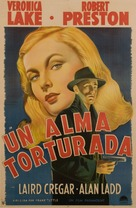 This Gun for Hire - Argentinian Movie Poster (xs thumbnail)