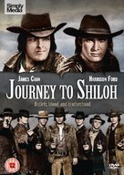 Journey to Shiloh - British DVD movie cover (xs thumbnail)