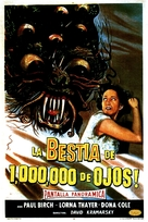 The Beast with a Million Eyes - Argentinian Movie Poster (xs thumbnail)