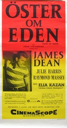 East of Eden - Swedish Movie Poster (xs thumbnail)