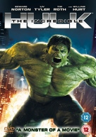 The Incredible Hulk - British DVD cover (xs thumbnail)
