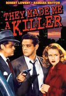 They Made Me a Killer - DVD cover (xs thumbnail)