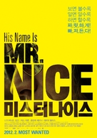 Mr. Nice - South Korean Movie Poster (xs thumbnail)