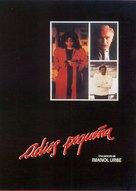 Adiós pequeña - Spanish Movie Cover (xs thumbnail)