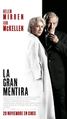 The Good Liar - Spanish Movie Poster (xs thumbnail)