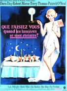 Where Were You When the Lights Went Out? - French Movie Poster (xs thumbnail)