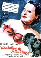 To Each His Own - Spanish Movie Poster (xs thumbnail)