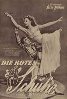 The Red Shoes - German poster (xs thumbnail)