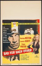 Bad for Each Other - Movie Poster (xs thumbnail)