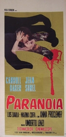 Paranoia - Italian Movie Poster (xs thumbnail)