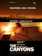 The Canyons - French Movie Poster (xs thumbnail)