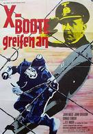 Above Us the Waves - German Movie Poster (xs thumbnail)