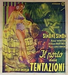 Temptation Harbour - Italian Movie Poster (xs thumbnail)