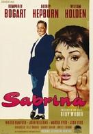Sabrina - German Movie Poster (xs thumbnail)