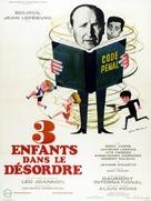 Trois enfants... dans le désordre - French Movie Poster (xs thumbnail)