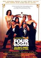 Four Rooms - Spanish Movie Poster (xs thumbnail)
