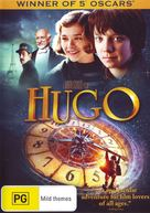 Hugo - Australian DVD movie cover (xs thumbnail)