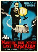 The Man Who Could Work Miracles - Danish Movie Poster (xs thumbnail)