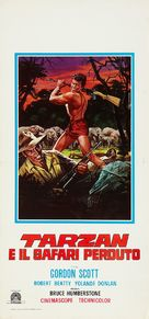 Tarzan and the Lost Safari - Italian Movie Poster (xs thumbnail)